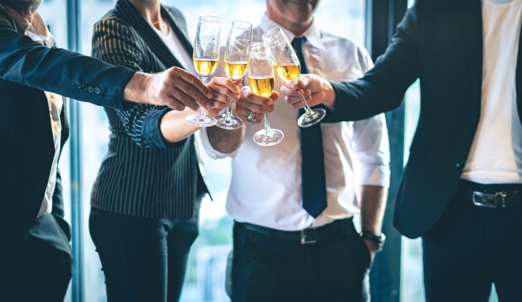 Champagne cheers for 2XM Recruit anniversary