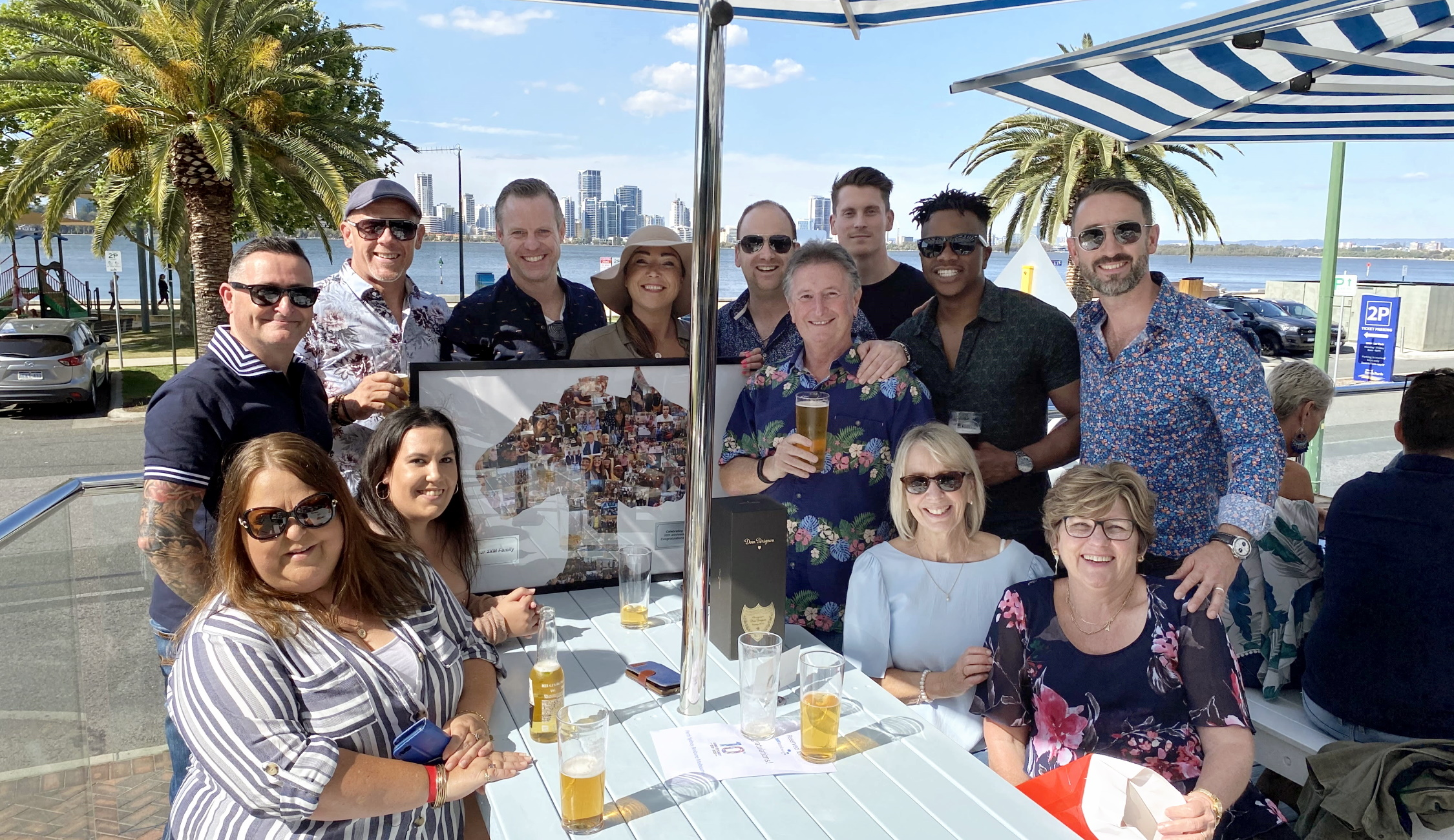 2XM Recruit Perth Team Anniversary Lunch